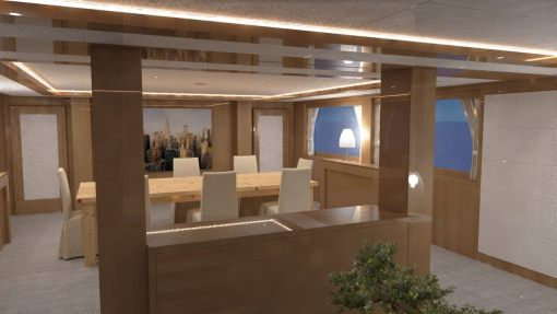 I-LSM - Display Liftsystem eingefahren
