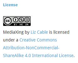 liz cable blog cc license