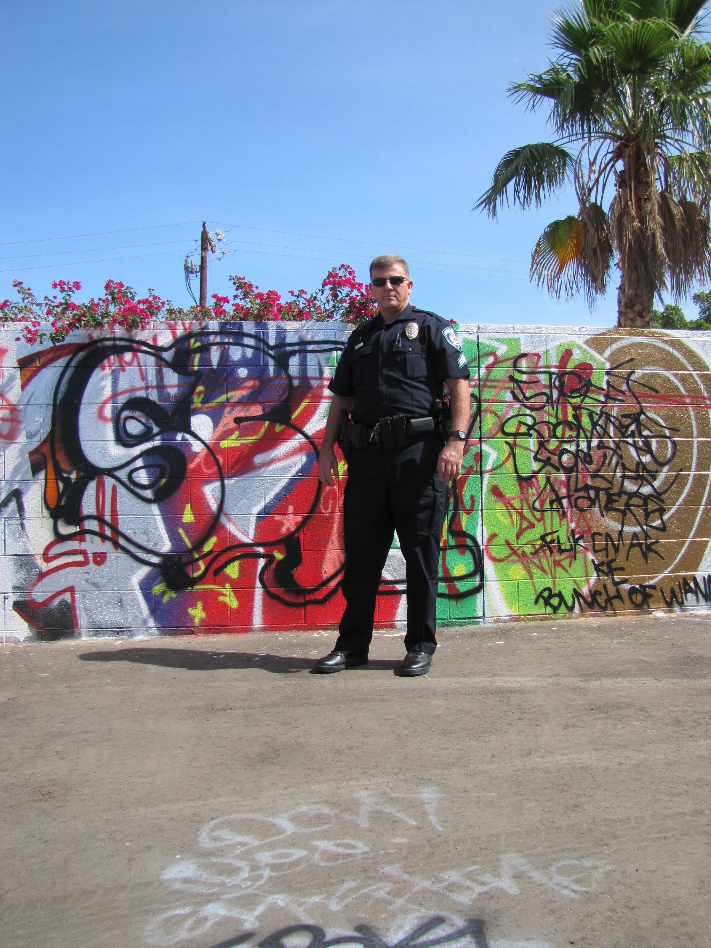 Yuma Police Handle Graffiti And Gang Activity