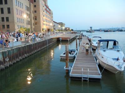 green bay wisconsin s city deck redeveloped waterfront