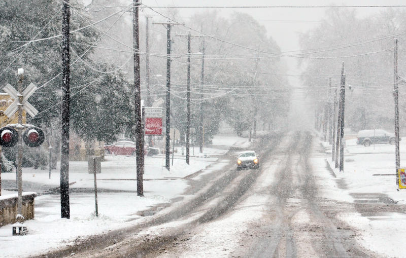 Sulphur Springs Texas Snow