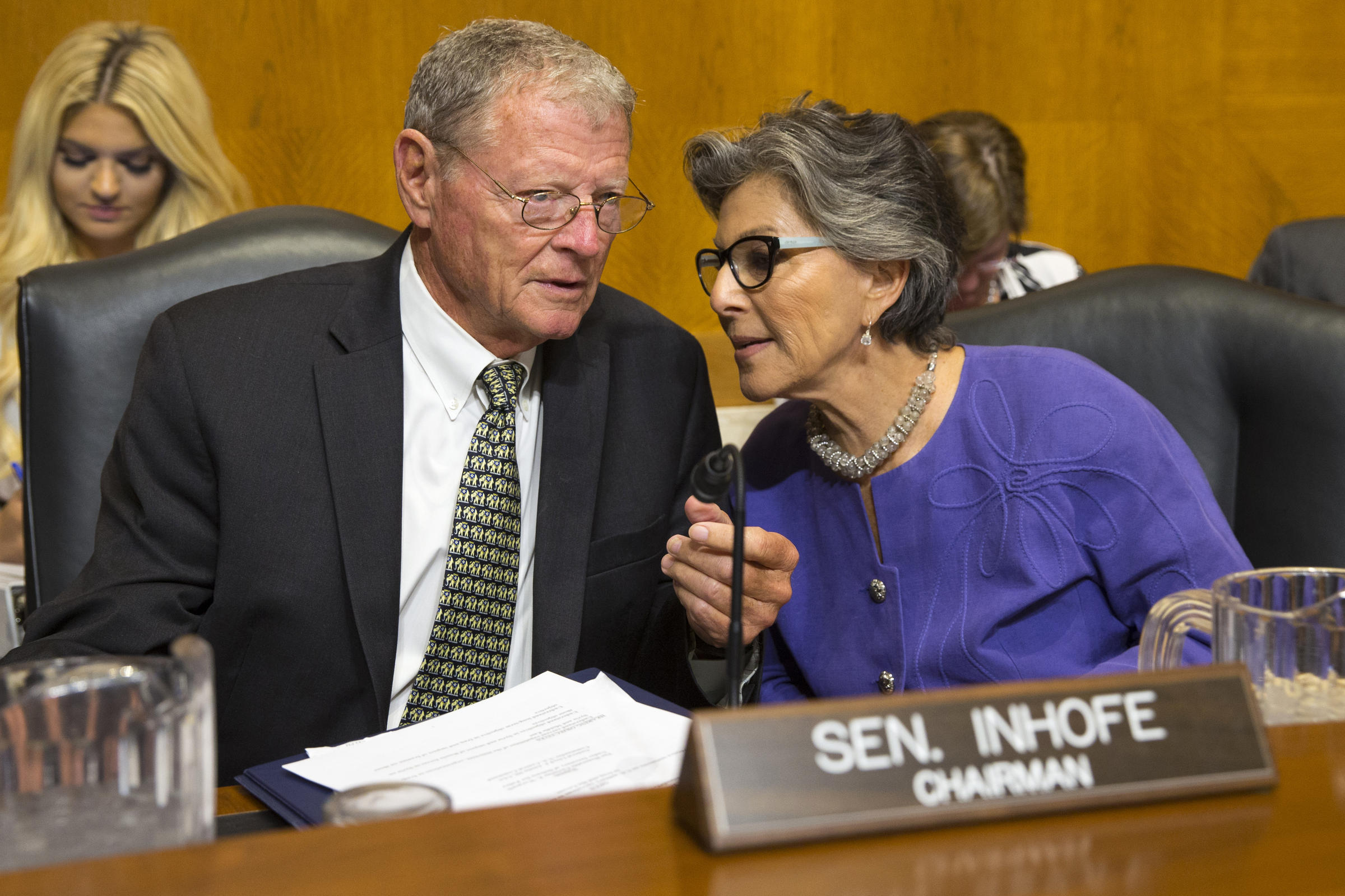 Image result for photos of Sen. Jim Inhofe (R-Okla.),