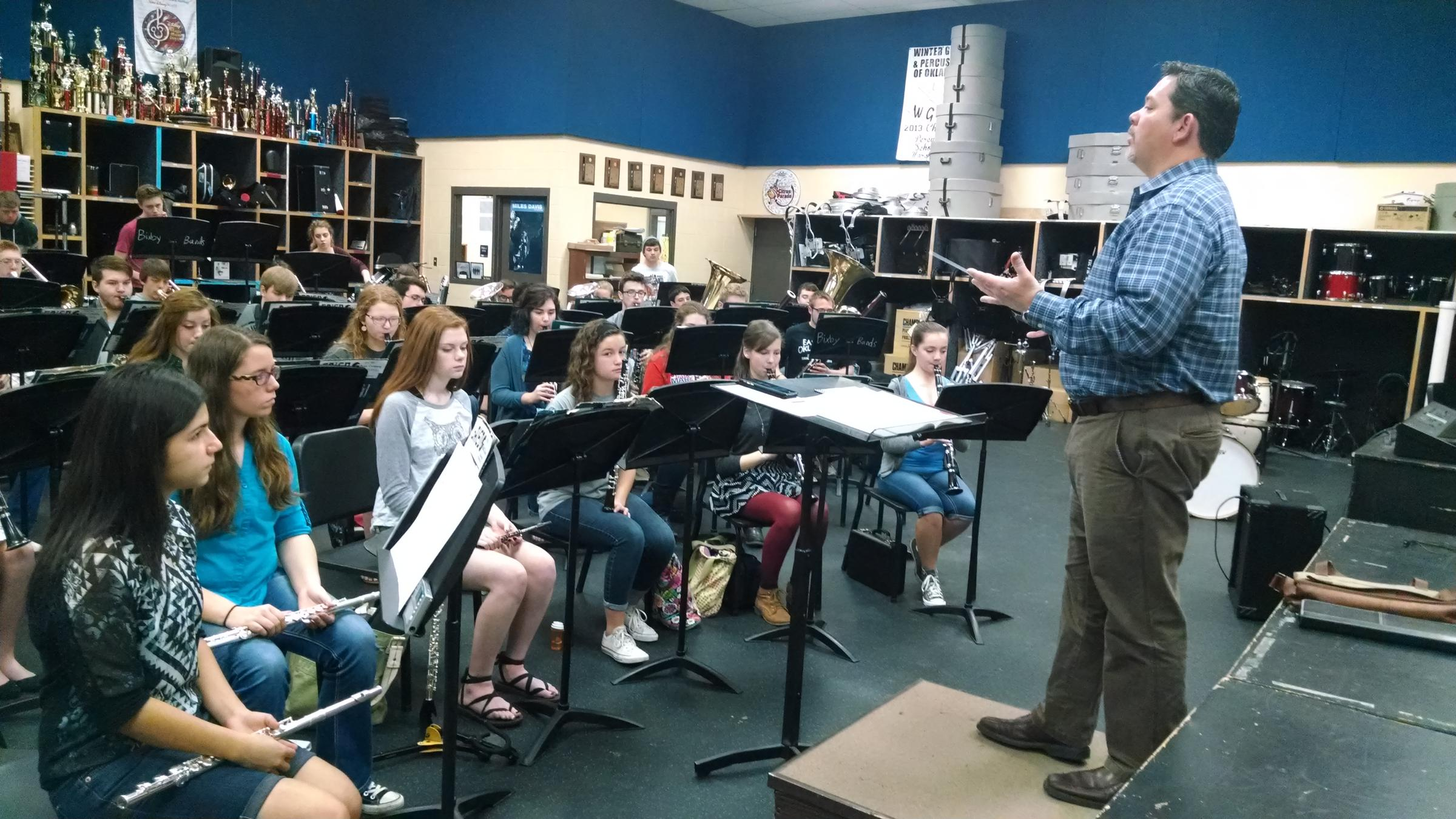 Bixby High School Bypasses Band Contests In Favor Of Further Music Education