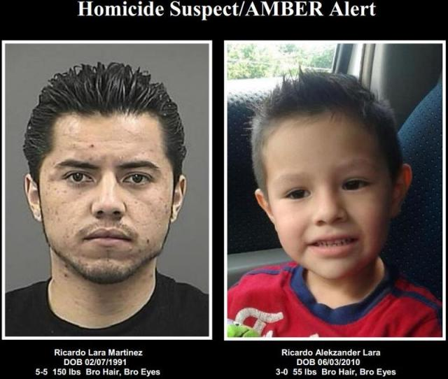 Update Denton Police Have Discontinued An Amber Alert For A Missing  Year Old Boy But Ricardo Lara Has Not Been Found Yet