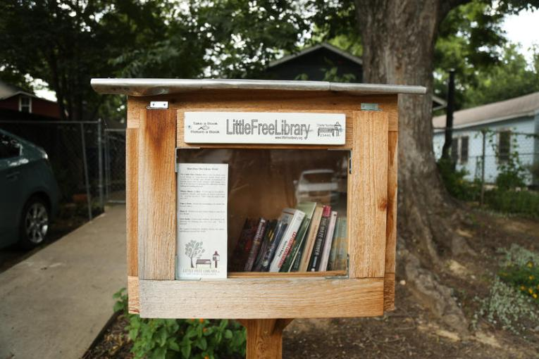 Books   KUT Why the Case of the Book Crook Raiding Austin s Little Libraries May Stay  on the Shelf