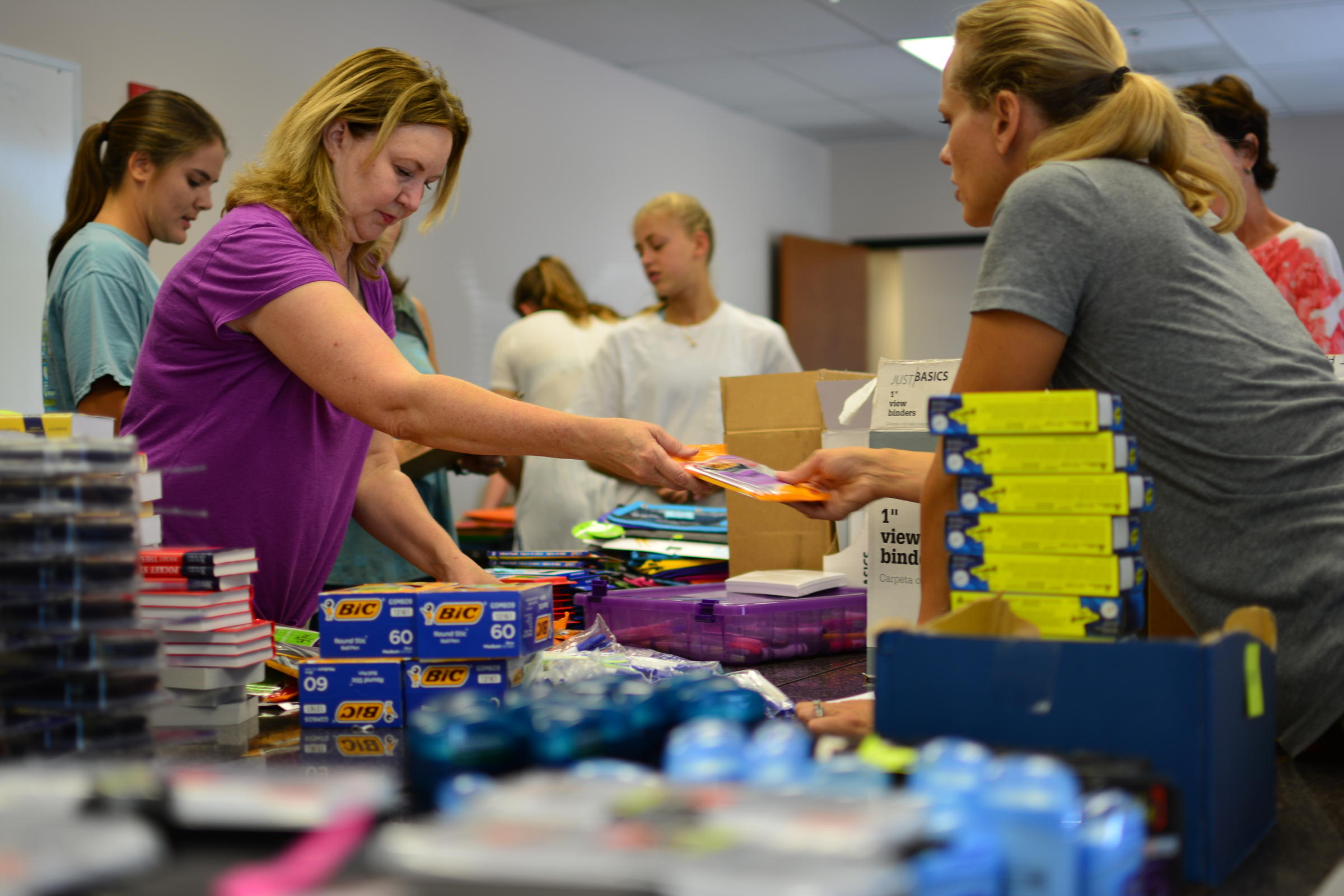 Program Hopes To Bring Back To School Supplies Normalcy