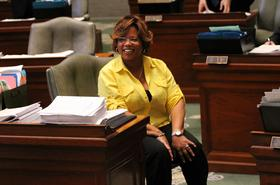 State Sen. Jamilah Nasheed, D-St. Louis