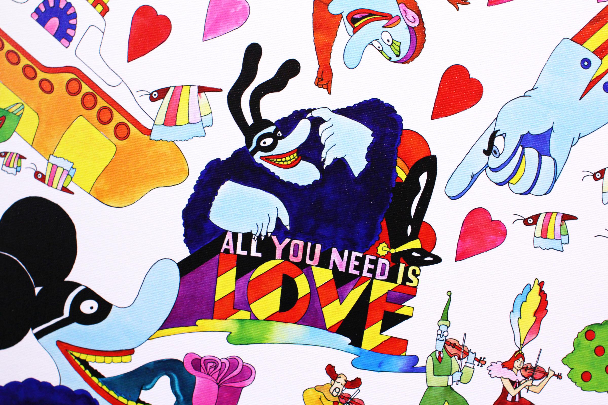 Yellow Submarine All You Need Love