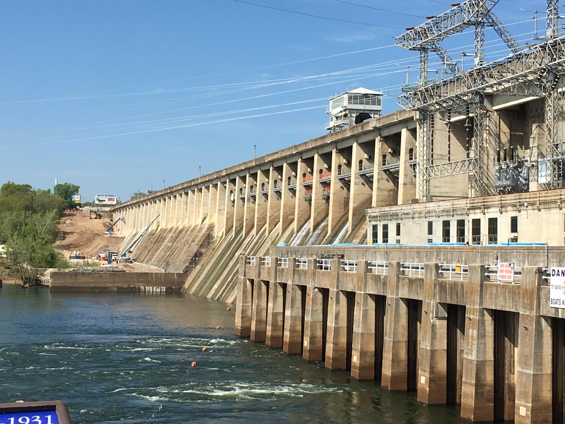 Image result for Lake of the Ozarks Dam