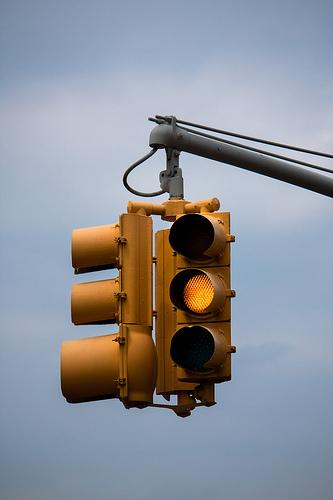 That Yellow Traffic Light It Was The Invention Of A