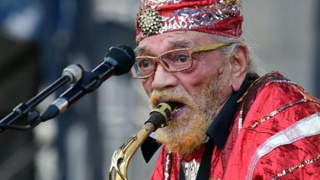 <em>Swirling</em> is the first album in over 20 years from the Sun Ra Arkestra, now led by 96-year-old saxophonist Marshall Allen.