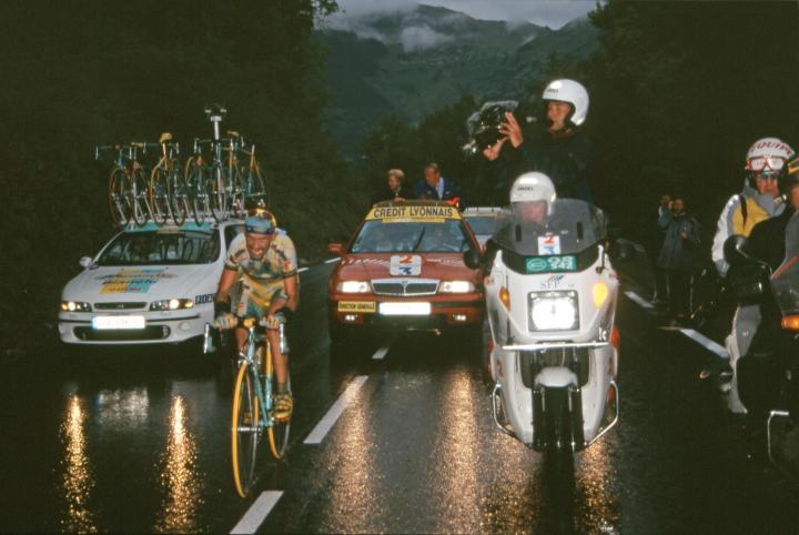 1999 L'impresa di Pantani sul Galibier: il Pirata vince il Tour de France   numerosette.eu