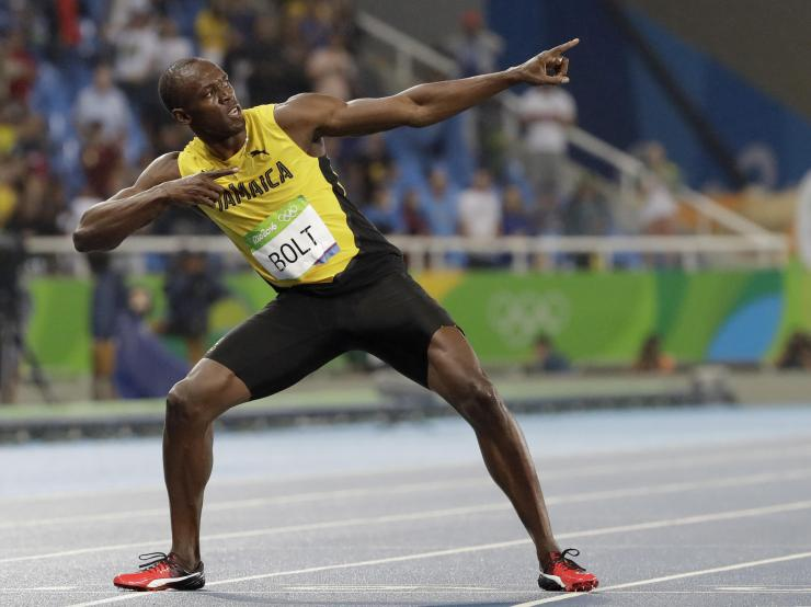 Usain Bolt's Final 100-Meter Race: 'There He Goes' | WUWM