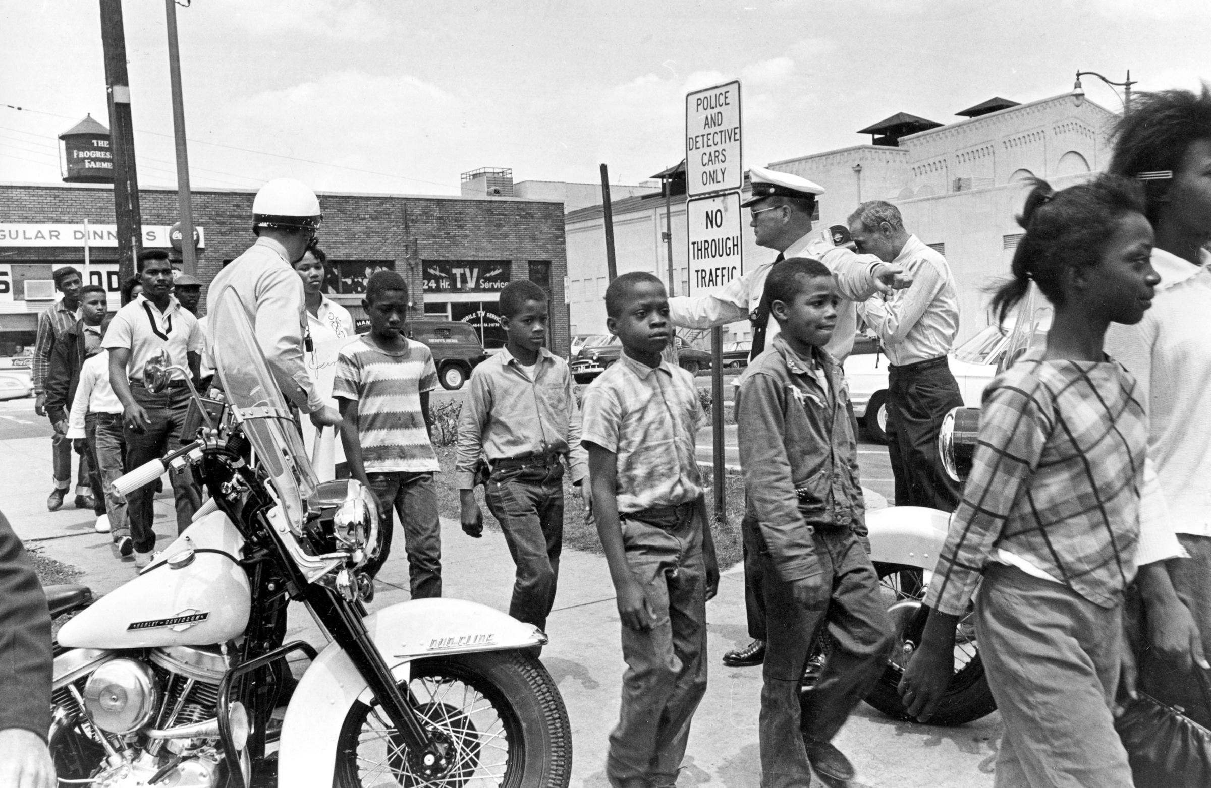 Student Civil Rights Protesters From The S Discuss