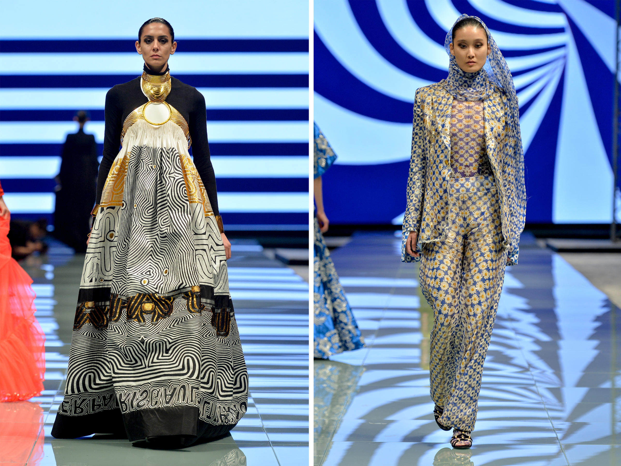 Saudi Arabia s First Arab Fashion Week Kicks Off  Beyond Fashionably     Jean Paul Gaultier was one of the big designers to participate in Saudi  Arabia s first Arab Fashion Week in Riyadh