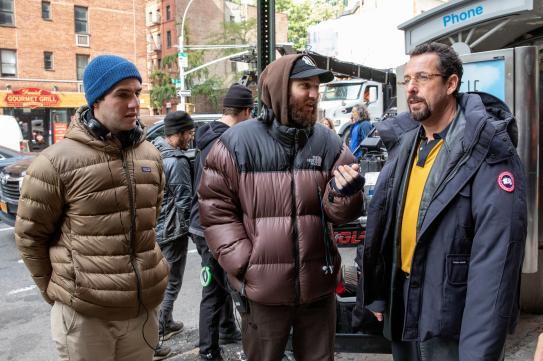 Image result for uncut gems safdie brothers""