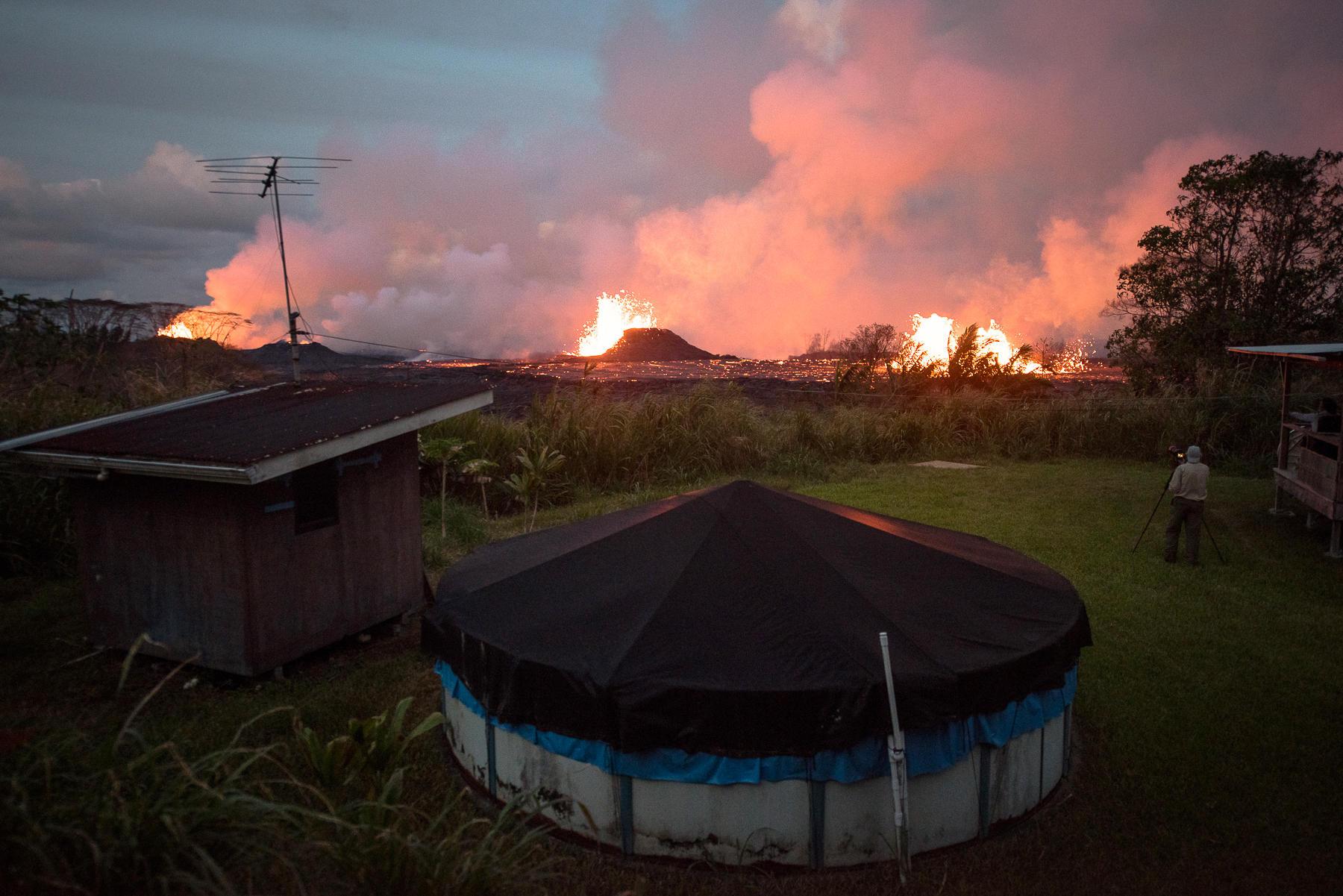 Did Heavy Rain Cause Hawaii S Historic Volcanic Eruption