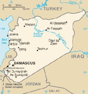 Bildergebnis für syrien map public domain