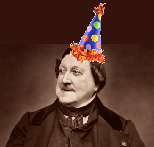 Resultado de imagen para Rossini Birthday