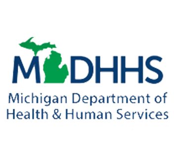 Logo for the Michigan Department of Health & Human Services