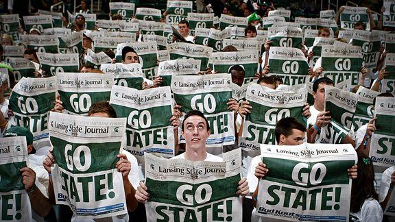 The Izzone gives Spartans distinct home court advantage | WKAR