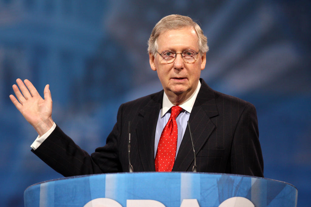 GOP Senate Health Care Bill   WOSU Radio Senator Mitch McConnell of Kentucky  Majority Leader and a Leading Force to  Pass the Republican Health Care Bill