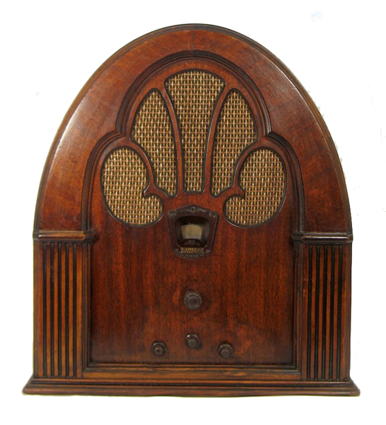 Cathedral Radio Cabinet
