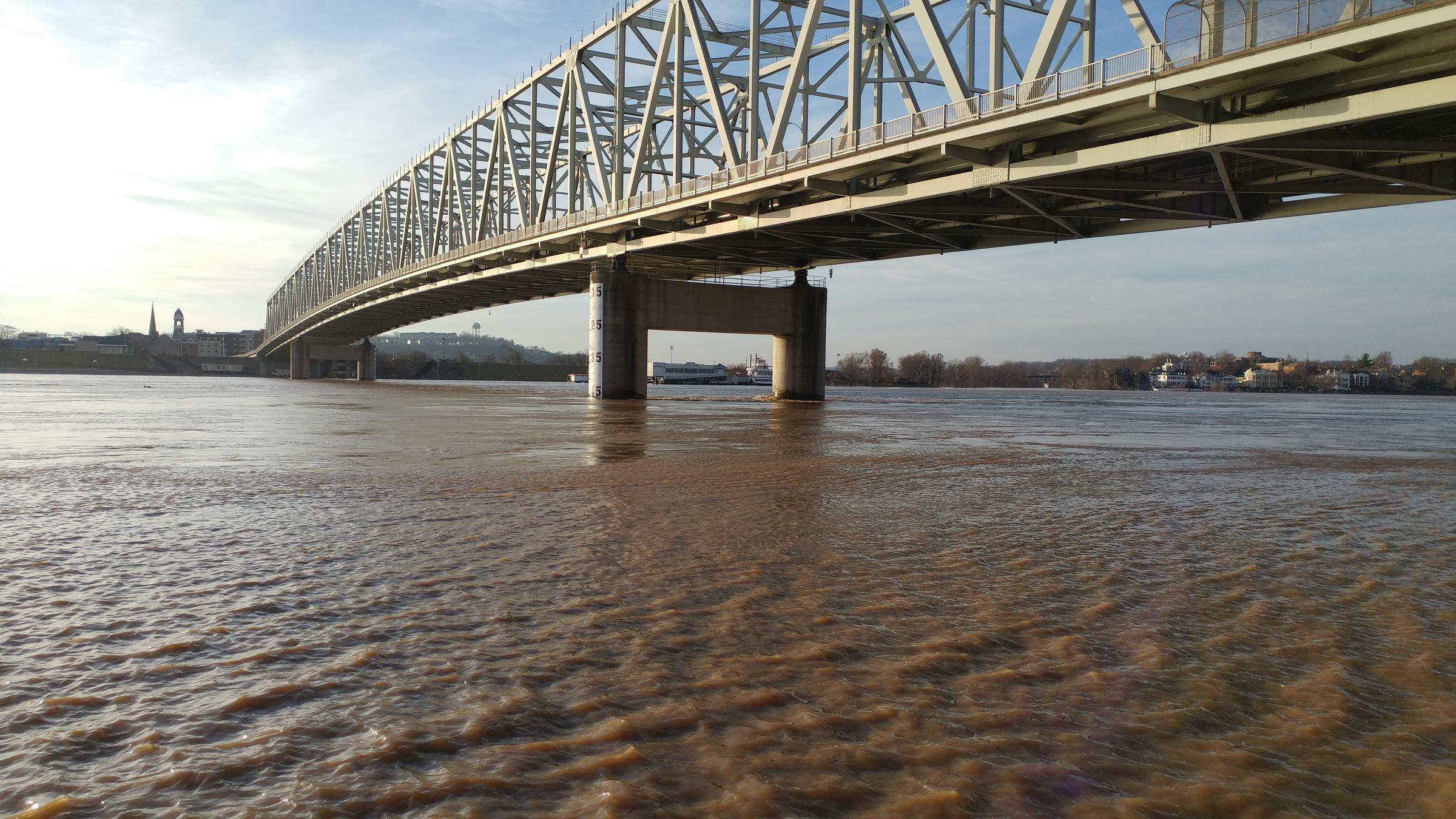 Ohio River Expected To Reach 60 Feet By Tuesday