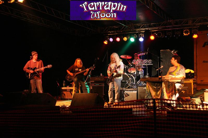 Terrapin Moon at the Highland Spring Jam, Sunshine Daydreams Music Park, June 2010