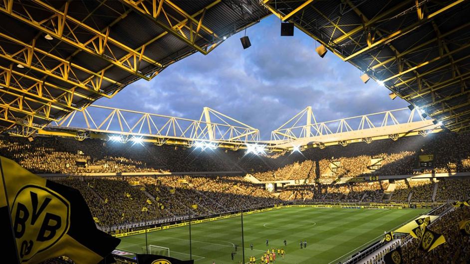 Fifa 19 Ein Blick In Den Signal Iduna Park So Sieht Das