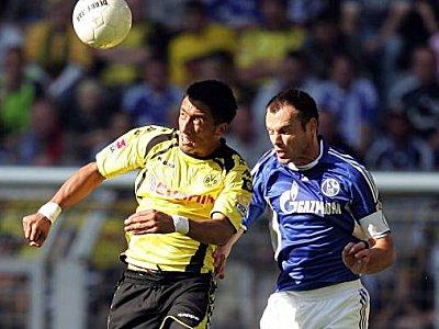 Werden sich wieder treffen, Westermann und Barrios - Quelle: kicker.de