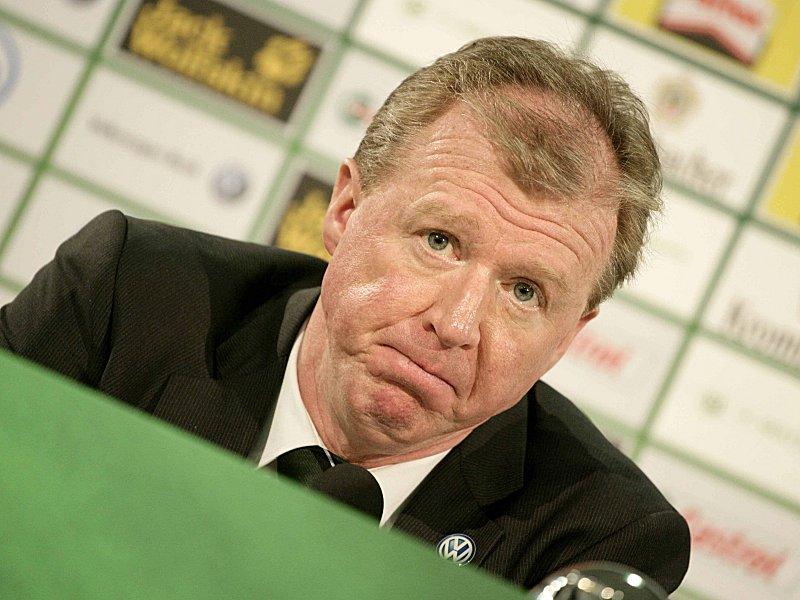 Nicht mehr Trainer in Wolfsburg. Steve McClaren. (Foto: kicker.de)