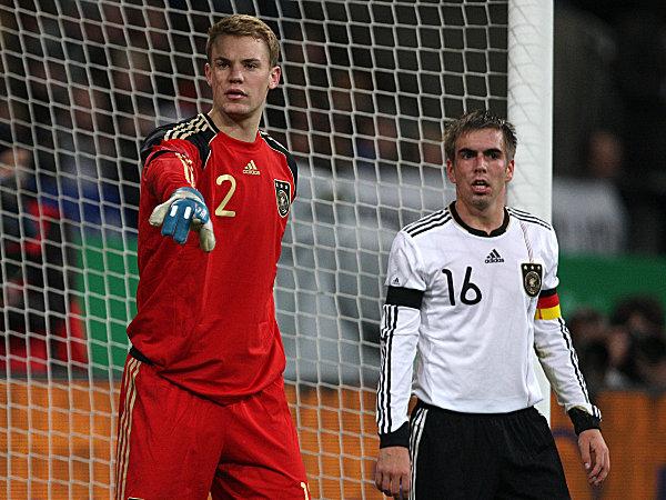Neuer e Lahm não enfrentam Camarões  cc25b2f73d8f7