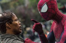 Spider-Man with pre-powers Jamie Foxx