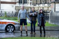 Stellan Skarsgård and others in 'Thor: The Dark World'