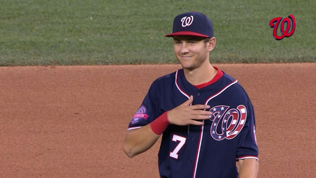 Image result for trea turner