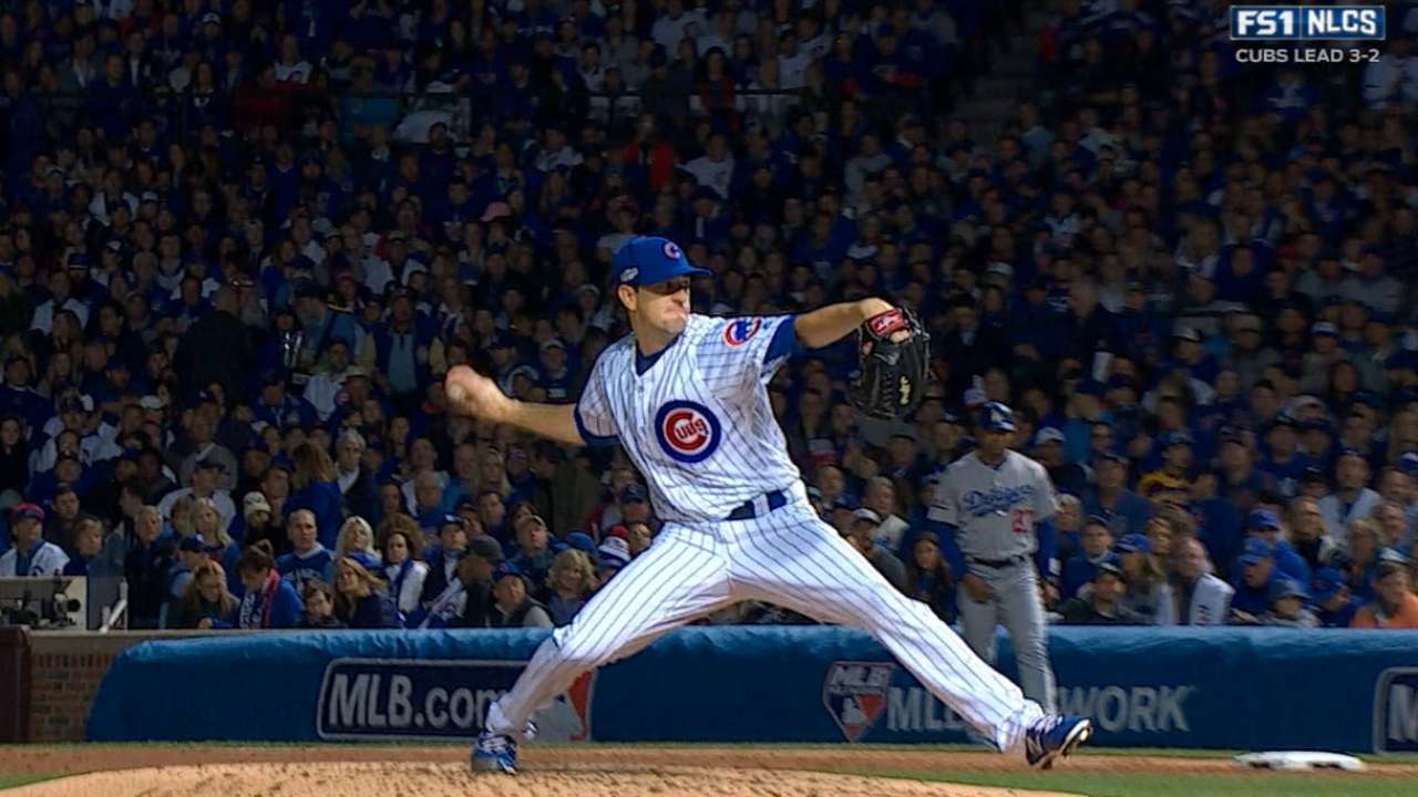 Image result for 2016 nlcs pickoff game 6