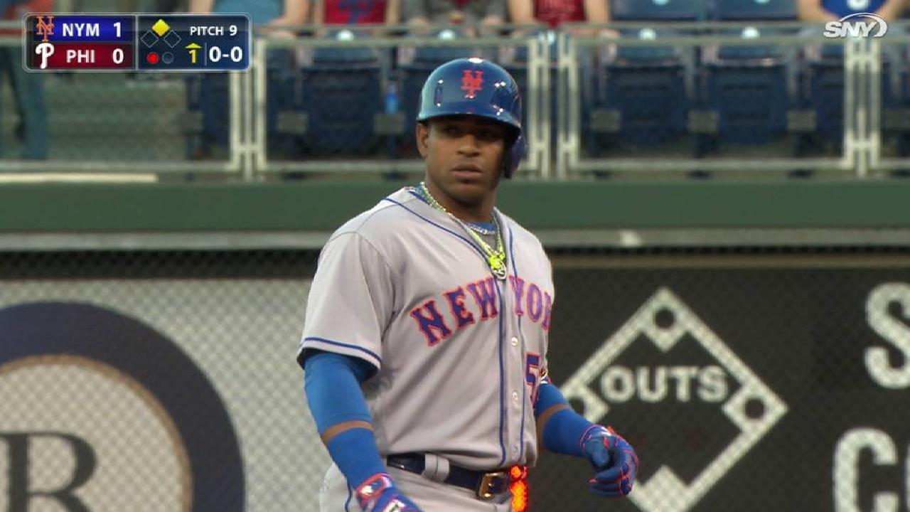 Céspedes, Cabrera aportan en la barrida de los Mets sobre los Filis