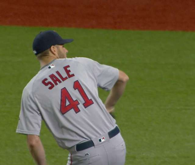 Sale Strikes Out 13