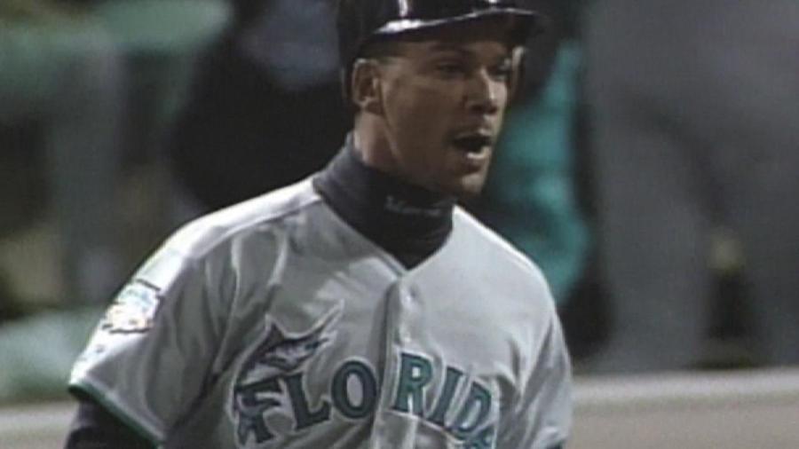 Alou hits three-run homer