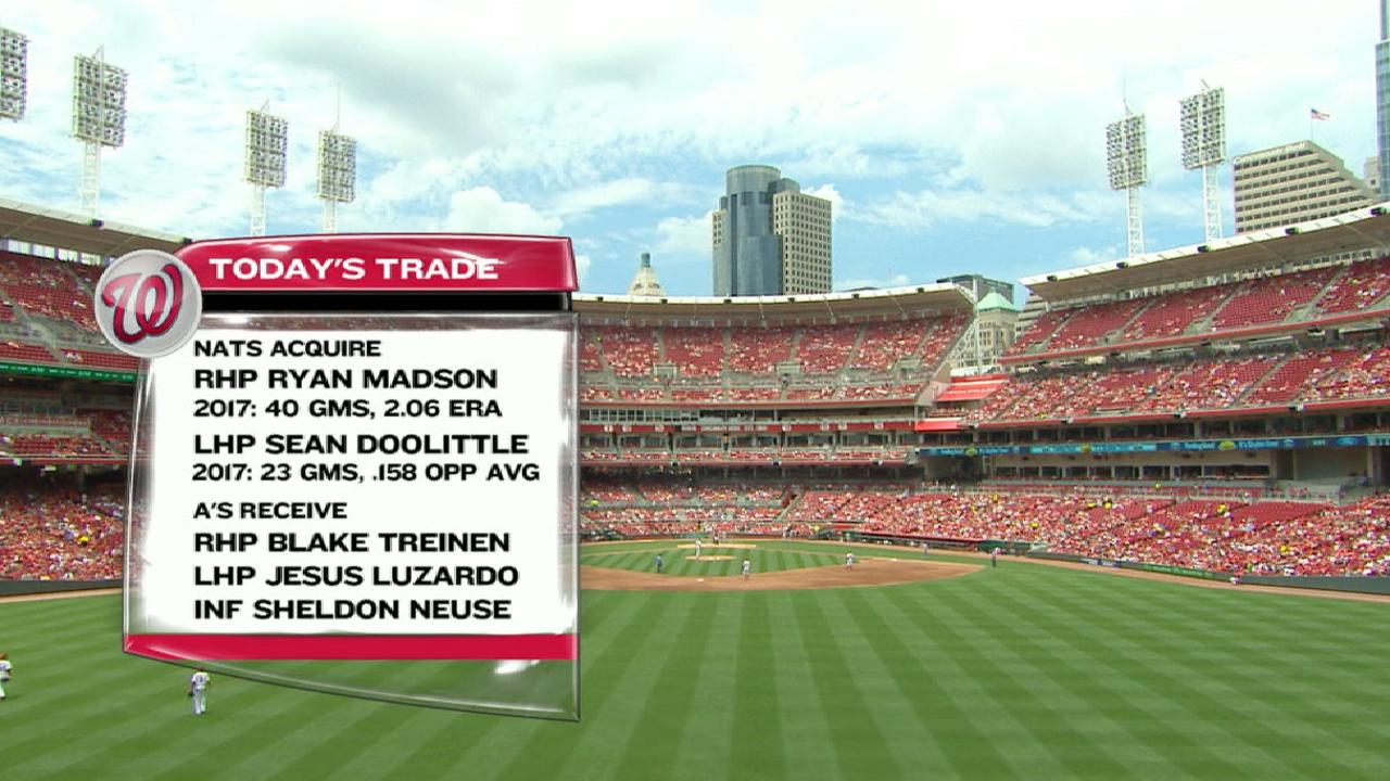 Nationals' trade with Athletics