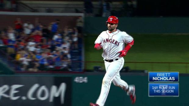 Rangers roll to 3rd straight win, secure series