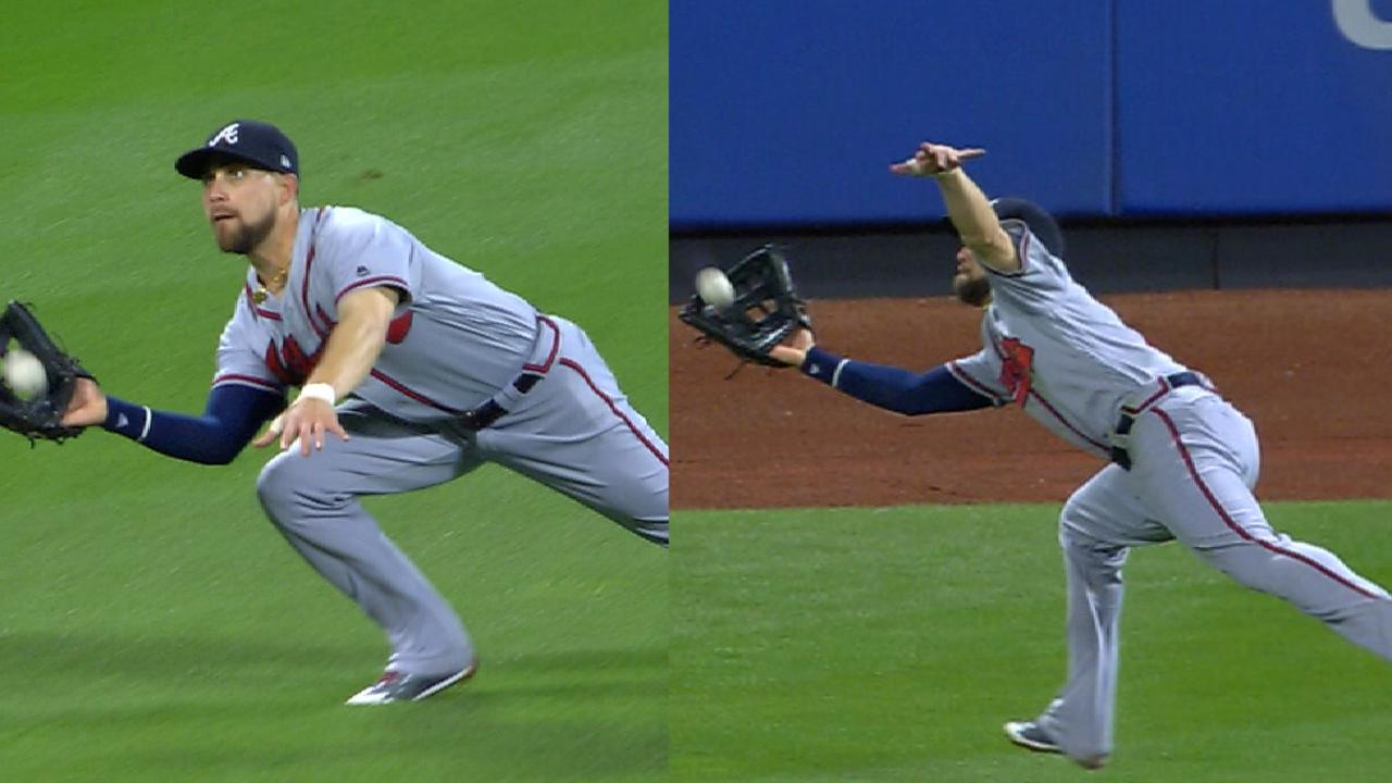 Inciarte's incredible grabs