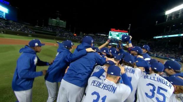 Dodgers avanzan a la Serie Mundial