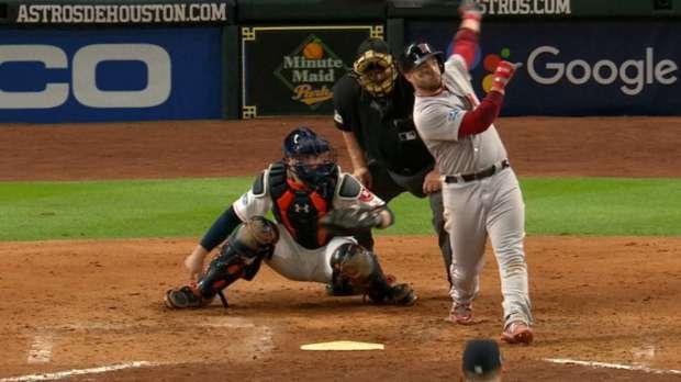 Pearce's monster home run