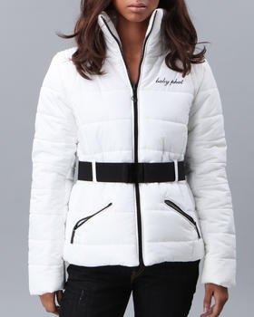 Baby Phat - BELTED PUFF JACKET