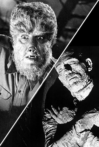 The Mummy and The Wolfman