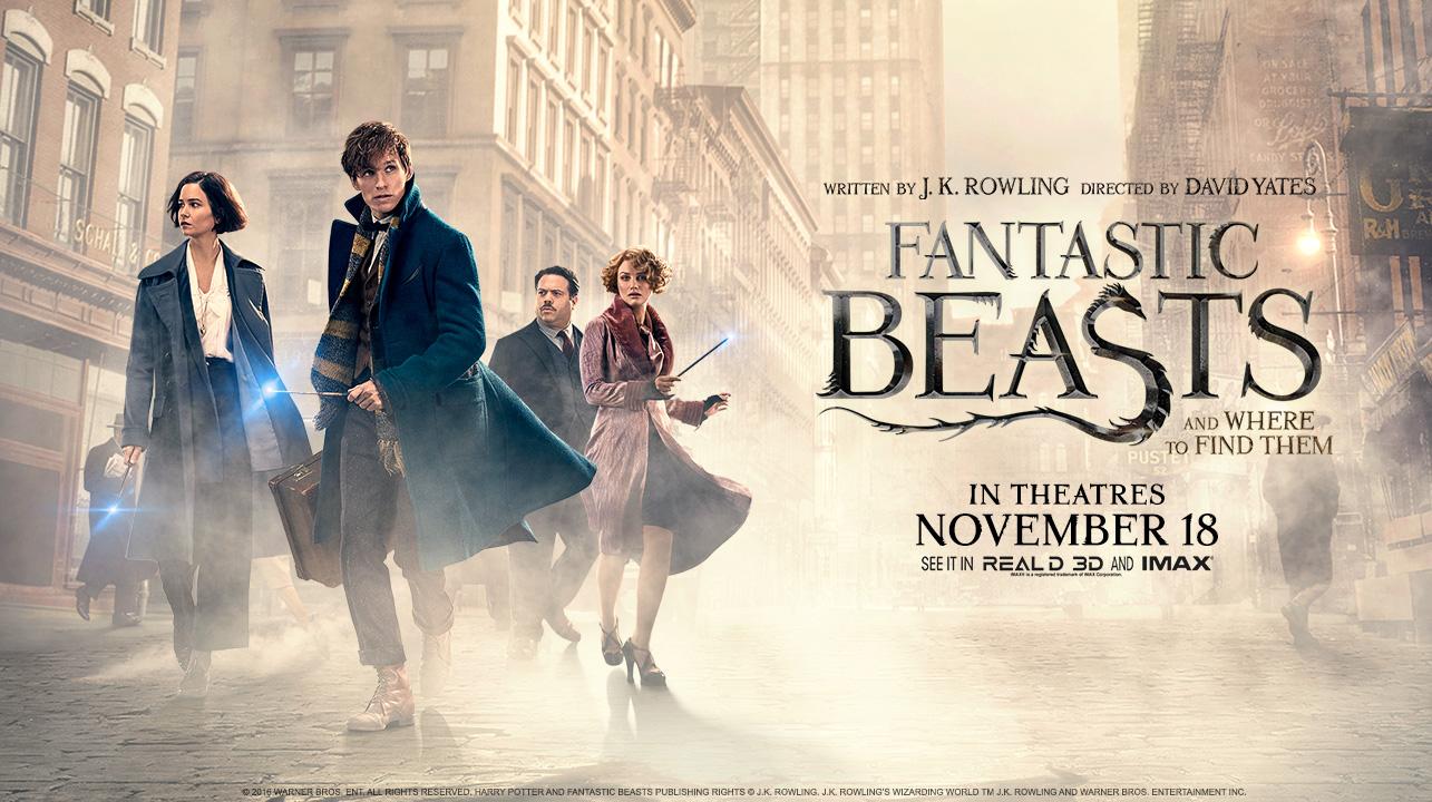 نتيجة بحث الصور عن fantastic beasts and where to find them poster