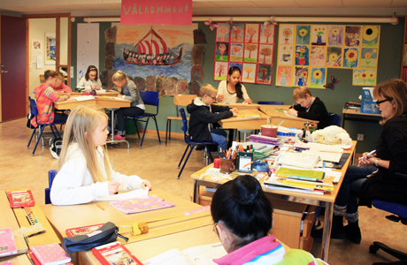 Hur är det att börja i åk 4 på Svenska Balettskolan?