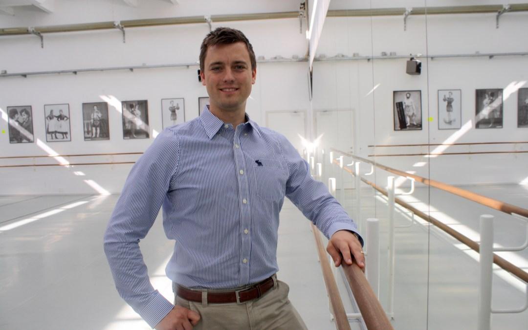 Sebastian Michanek ny konstnärlig ledare för Svenska Balettskolan i Göteborg